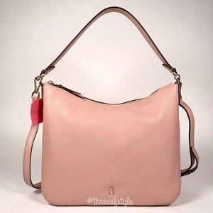 Kate Spade Polly Medium Shoulder Bag Flapper Pink